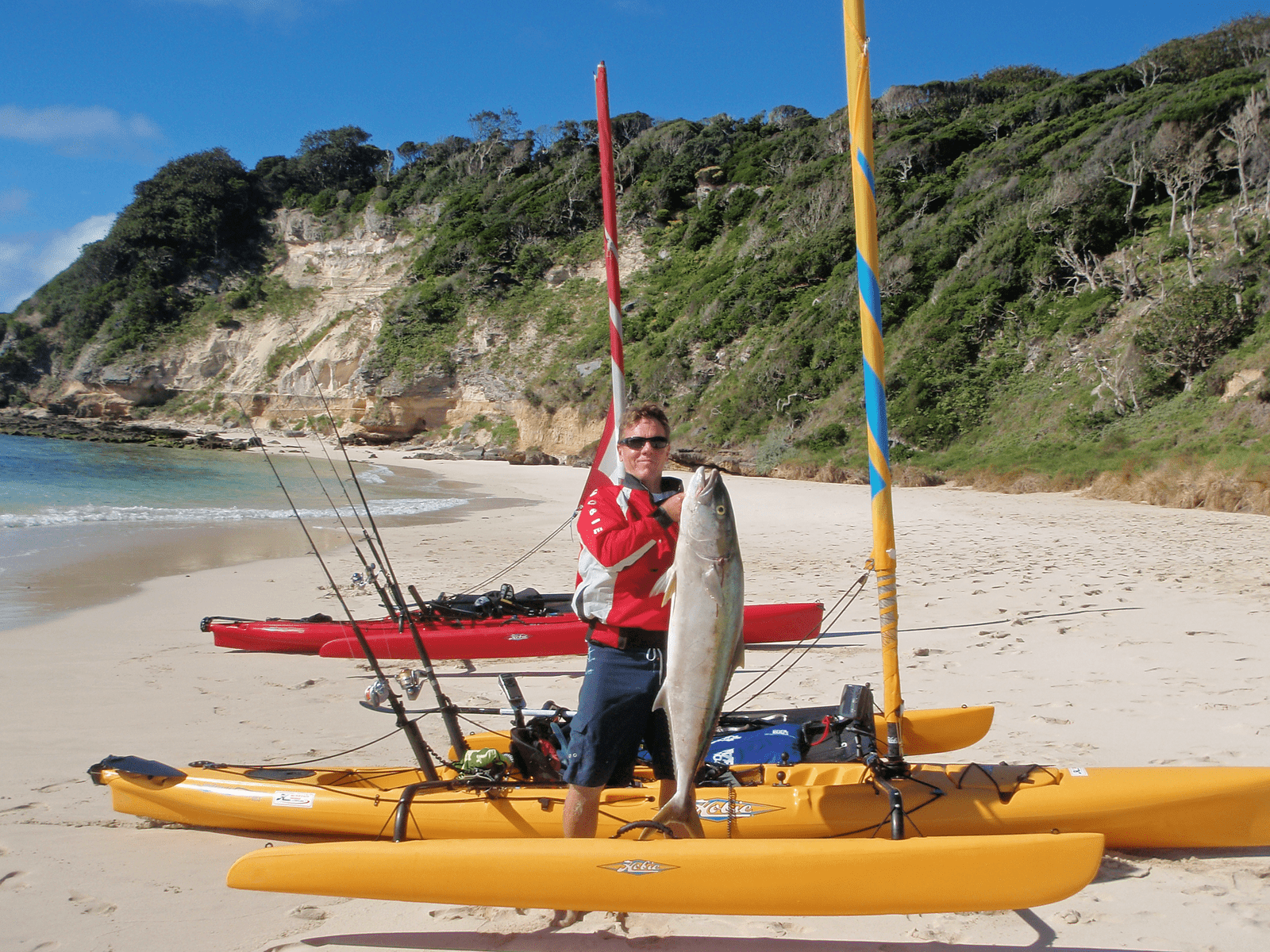 Hobie adventure island hobie centre for Hobie fishing kayak