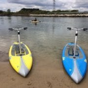 2 Hobie Mirage Eclipses ready to go!