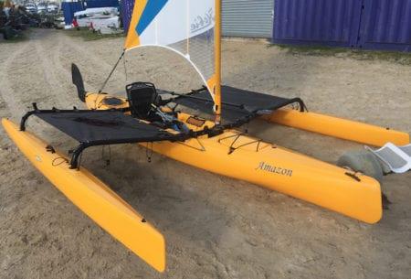 Used Hobie Adventure Island Mirage Kayak for sale 2
