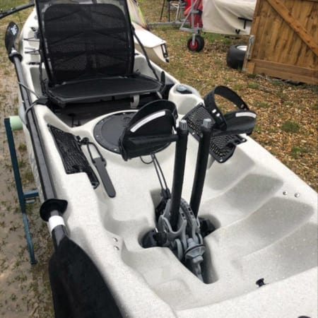 Ex-demo Hobie Revolution 16 Ivory Dune Middle Section with Mirage Drive